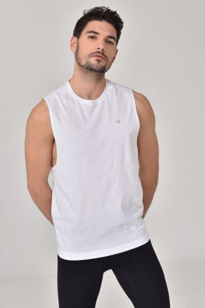 Beyaz Erkek Örme Atlet GS-1622