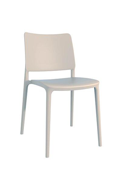 Joy Sandalye Kum Beji - Mutfak Sandalyesi - Kolçaksız