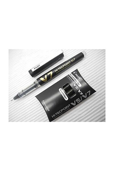 V7 İğne Uçlu Kalem & 3 Kartuş