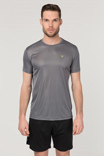 Gri Antrenman Erkek T-Shirt FS-1683