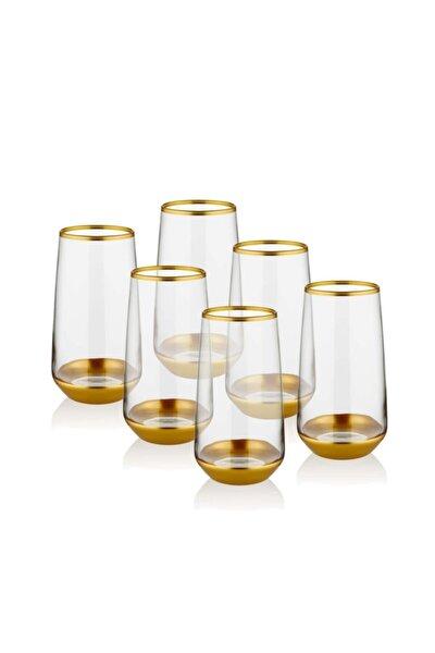 Homechic Glam Meşrubat Bardak Altın