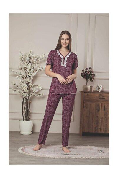 Kadın Viskon Pijama Takımı