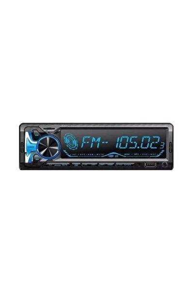 Cd8300 Bluetoothlu Her Araca Uygun Renk Değişimli Oto Teyp 4*60 Ses Çıkışlı Araba Teyp