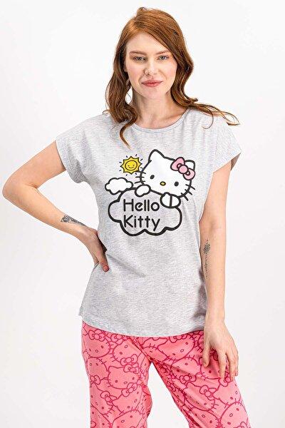 Kadın Lisanslı Karmelanj Pijama Takımı