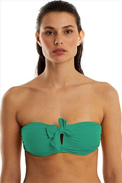 Kadın Nil Yeşili Bikini Üstü 63547/D8104