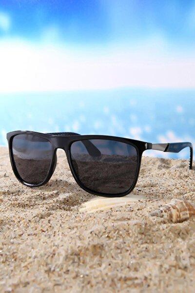 Erkek Dikdörtgen Di Caprio Polarize Güneş Gözlüğü DTX1084A