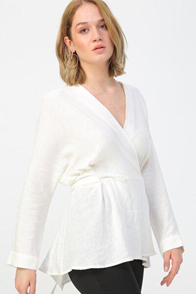 Kadın Beyaz Bluz 504393044 Boyner