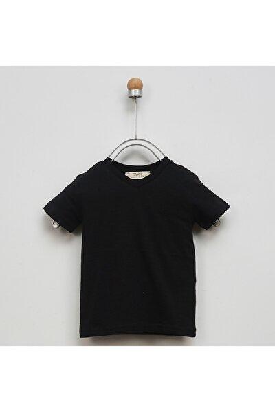 Basic V Yaka T-Shirt 9941BB05002