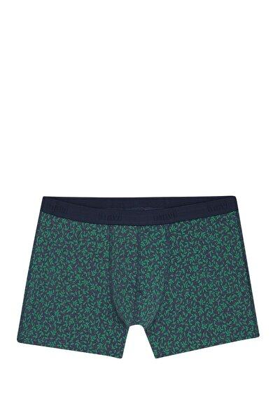 Erkek Yeşil Desenli Boxer 092082-30727