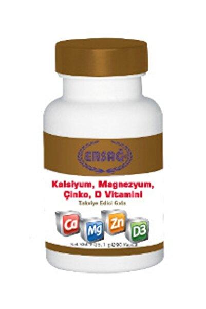 Kalsiyum, Magnezyum, Çinko, D Vitamini Kapsülü