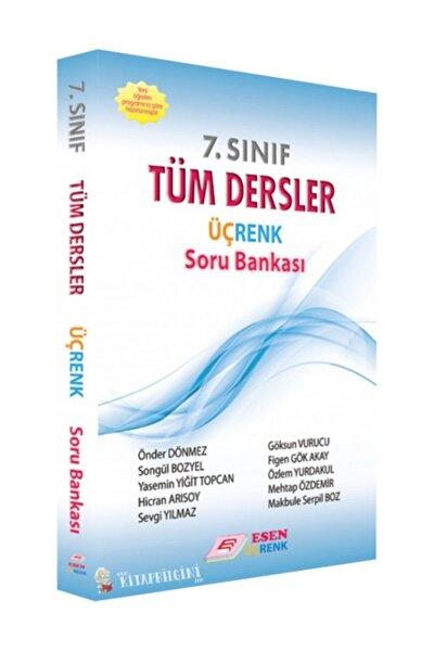 ?Esen Yayınları 7. Sınıf Tüm Dersler Üçrenk Soru Bankası