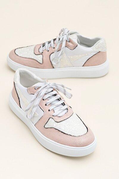 EUROPA Pembe Multi Kadın Ayakkabı
