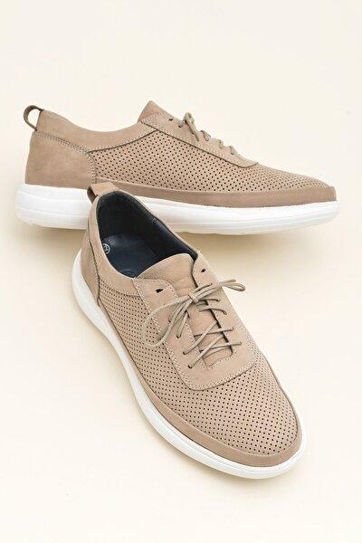ANTWONE Hakiki Deri Kum Erkek Casual Ayakkabı