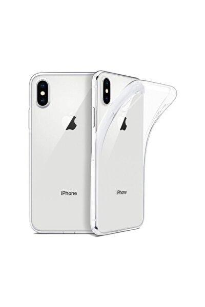 Apple Iphone X/xs Kılıf Ultra Ince Silikon Arka Kapak Imax Şeffaf