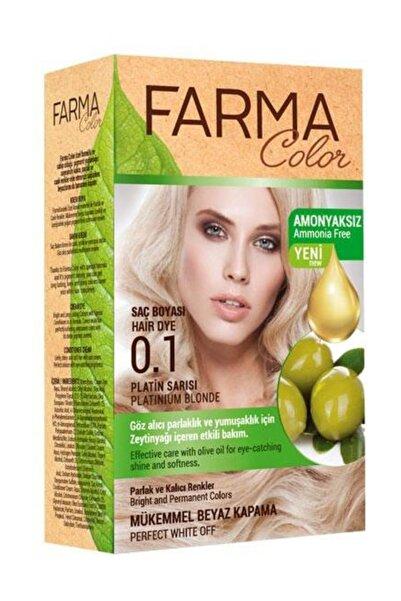 Farmacolor Saç Boyası 0.1 Platin Sarısı 8690131113124
