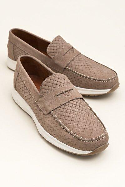 CARLIN Hakiki Deri Kum Erkek Ayakkabı