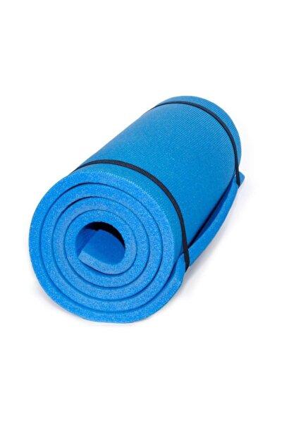 16 MM Mavi Pilatess ve Yoga Minderi 180 x 60 cm