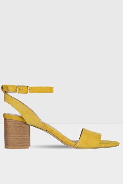 DORECLYA-TR - Sarı Kadın Topuklu Sandalet