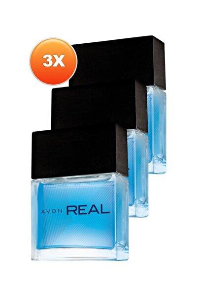 Real Erkek Parfüm Edt 30 ml Üçlü Set