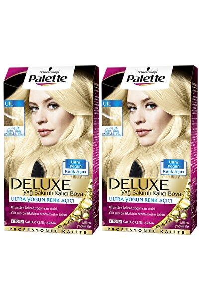 2'li Palette Deluxe Ultra Yoğun Renk Açıcı, Sarı Renk Aktifleştirici - Yağ Bakımlı Kalıcı Saç Boyası