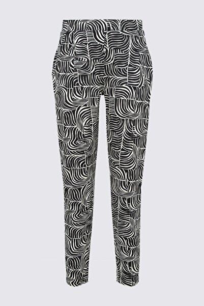 Kadın Siyah Pantolon T57006450H