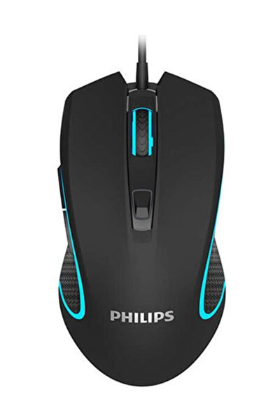 RGB SPK9413 Usb Siyah 6400dpi RGB  Gaming Oyuncu Mouse