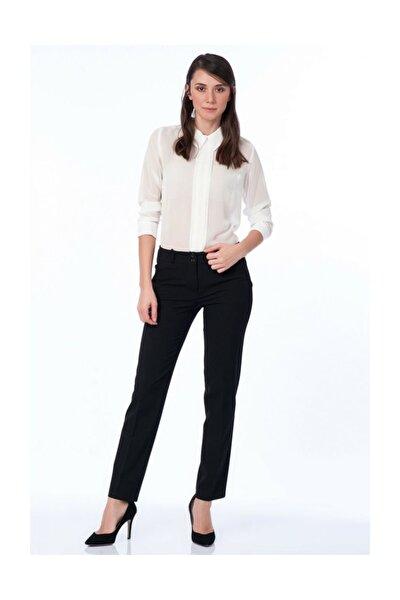 Kadın Siyah Pantolon Pnt18121