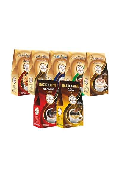 Türk Kahvesi+ Sıcak Çikolata+ Nescafe 3in1 + Klas Ve Gold + Sahlep + Kappuçino