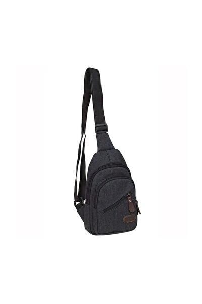 Kanvas Kumaş Unisex Body Bag