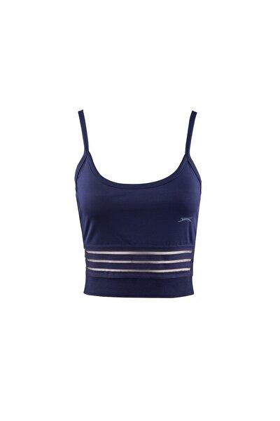 PUSH Lacivert Kadın Kısa Kol Tişört 100788330