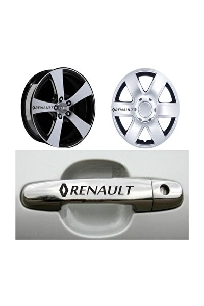 Renault Kapı Kolu Jant Sticker