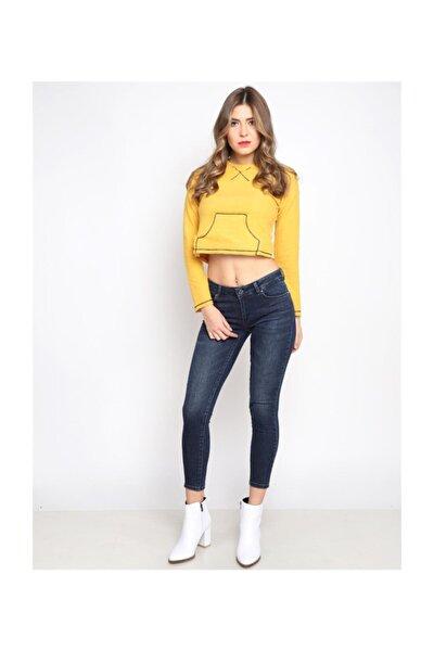 Lima  Lacivert Orta Bel Jean