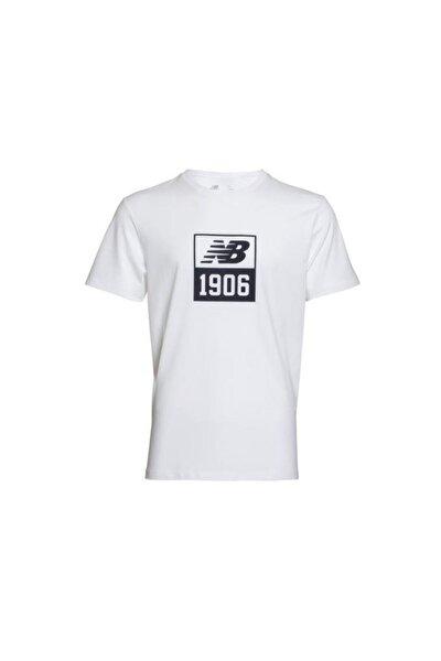 1906 Mens Tee Beyaz Erkek Tişört - Mps004-wt
