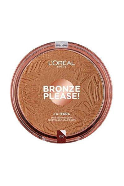 Bronze Please! Bronzlaştırıcı Pudra 03 Amalfi 3600522109303