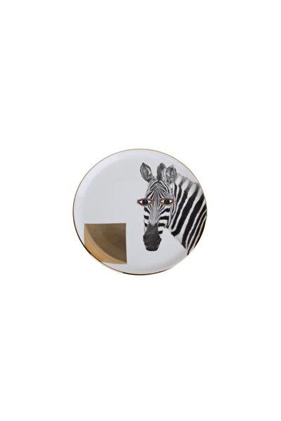 Wild Life Zebra Düz Tabak 20cm