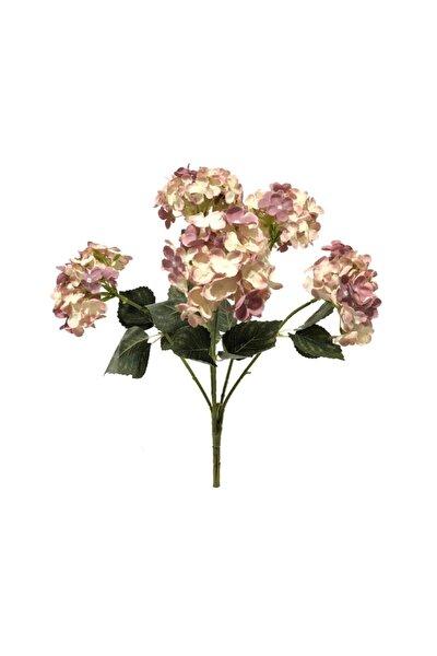 Yapay Çiçek Ortanca Çiçeği Pudra 50 cm
