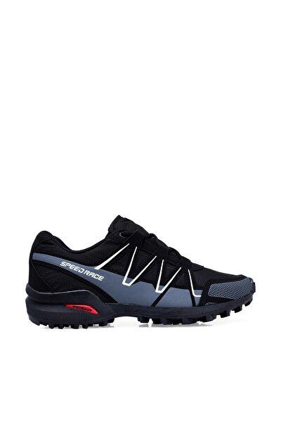 Siyah Beyaz Erkek Outdoor Ayakkabı 5601953