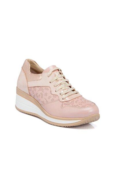 Pudra-simli Deri Kadın Ayakkabı 64514n0p