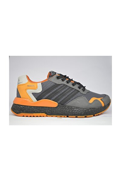 Ww Yeni Nesil Spor Ayakkabı Gri-oranj