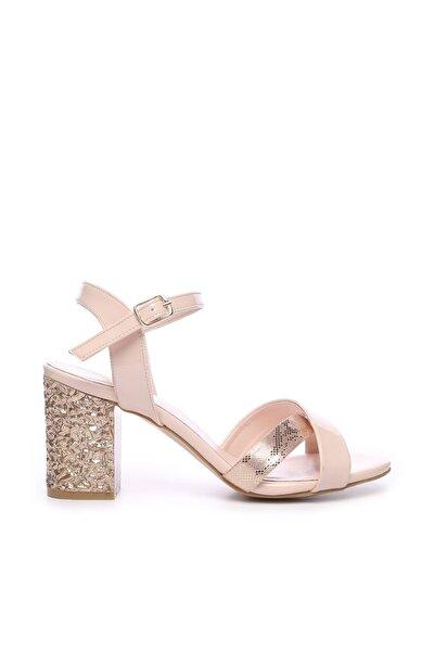 Bej Kadın Ayakkabı 652 1849 BN AYK