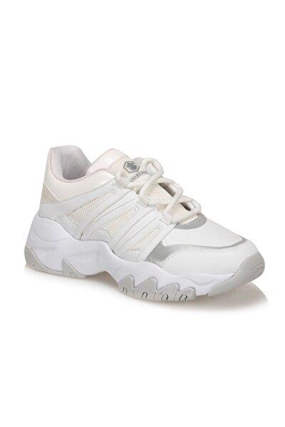 Mımosa Beyaz Kadın Sneaker Ayakkabı
