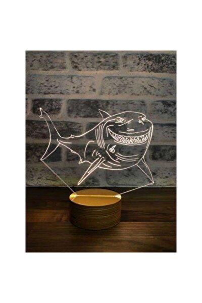 Köpek Balığı Lamba Tasarımı