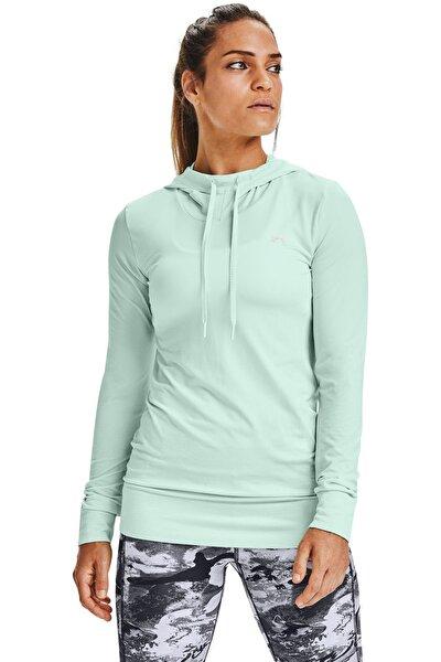 Kadın Spor Sweatshirt - Ua Seamless Hoodie - 1351647-403