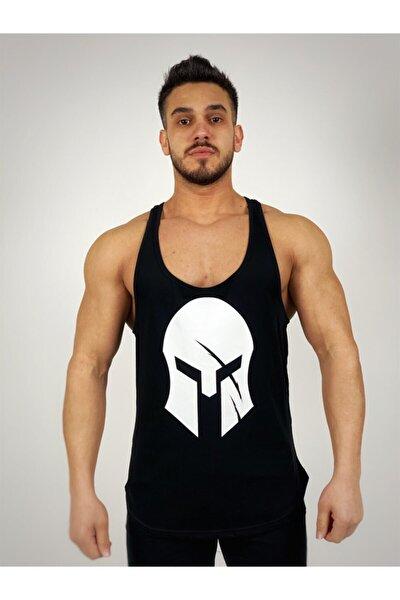 Erkek Siyah Sparta Fitness Atleti