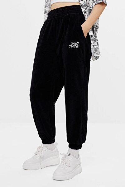 JoggingKadın Siyah  Fit Pantolon
