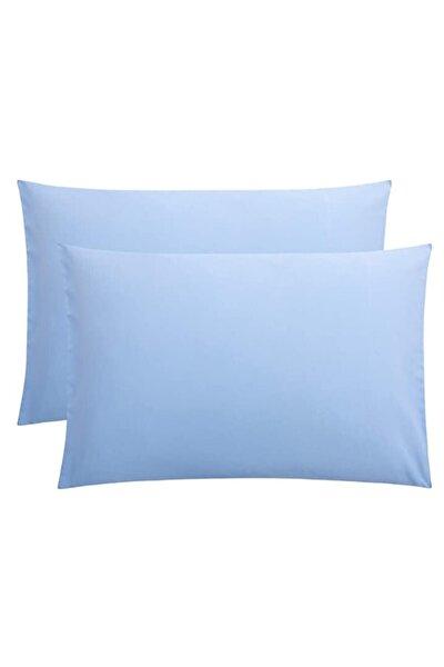 Stella Flavo 2'li Yastık Kılıfı 50x70+20cm Kapaklı Mavi