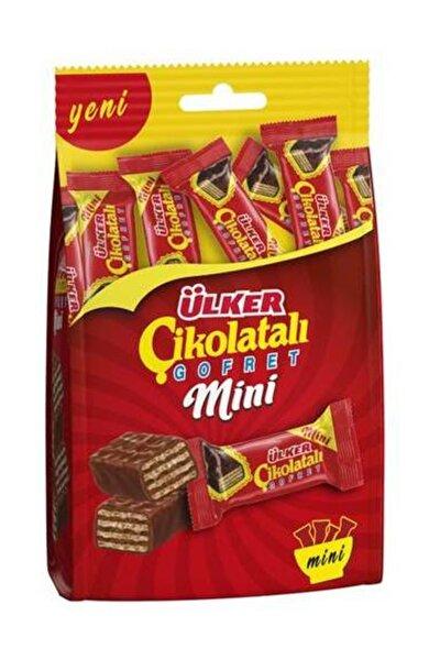 Mini Çikolatalı Gofret Çoklu Paket Çikolata 82 gr