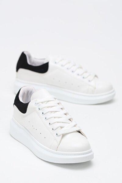 Kadın Siyah Beyaz Sneaker Spor Ayakkabı  5007-20-110001