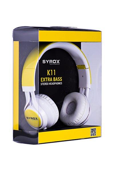 Kablolu Mikrofonlu Kulaküstü Kulaklık