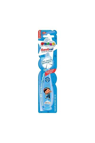 Mavi EI Işıklı Diş Fırçası